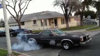 1979 ford ranchero burnout