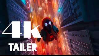 SPIDER MAN  INTO THE SPIDER VERSE Trailer #4 4K ULTRA HD NEW 2018 by marvel 4k tailer