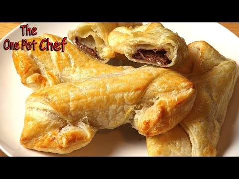 Cheaters Chocolate Croissants - RECIPE