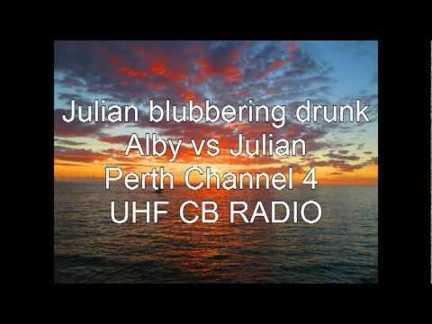 Alby vs Julian - Perth Channel 4 UHF CB RADIO repeater