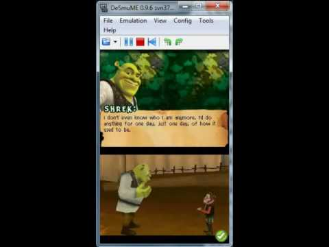 Shrek Forever After on DeSmuME 0.9.6 - Nintendo DS Emulator