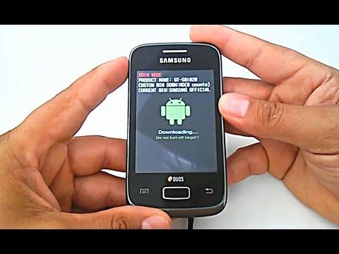 Firmware Stock Rom Samsung Galaxy Y Duos GT-S6102. S6102b. como instalar. atualizar. restaurar