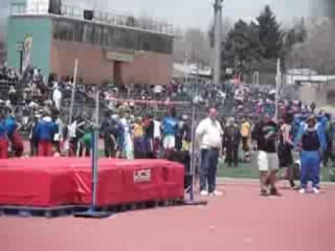 Josh Canchola Last Jump EVER for Roy J. Wasson High School at 6ft 2inches
