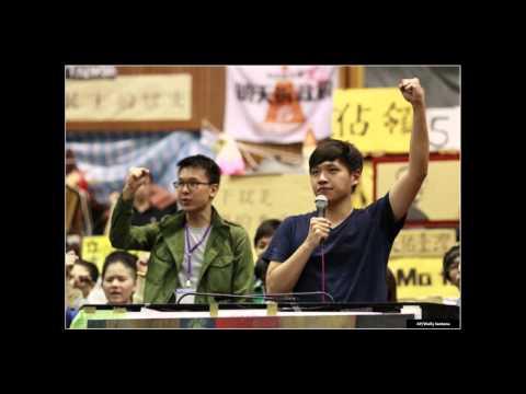 Seth Pate (Fletcher MA Student) - New Media in Taiwan's Sunflower Movement