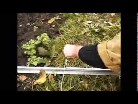 Фундамент для теплицы на резьбовых шпильках своими руками
