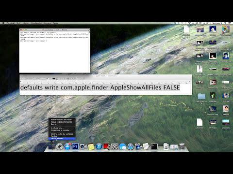 Mostrar Folders/Archivos del sistema ocultos en MAC