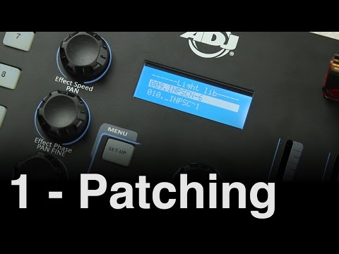 ADJ WiFly NE1 Tutorial 1 | Setup and Patch
