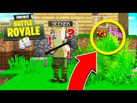 Minecraft Fortnite: Battle Royale HIDE & SEEK! - Minecraft Mods