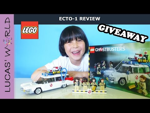 LEGO Ghostbusters 30th Anniversary ECTO 1 Play Set REVIEW & GIVEAWAY Surprise