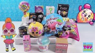LOL Surprise Pets PacMan Mashems Num Noms Squish Dee-Lish Toy Review Unboxing | PSToyReviews