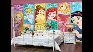 Kids Room Wall Decorating With Painting 18 Ideas | 2018 | Wall Design Series - Episode 4