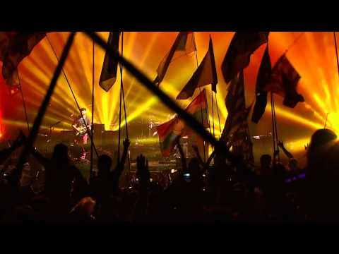 Coldplay - What a Wonderful World & Fix You - Glastonbury 2011 (HD)