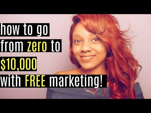How to Make $10000 a Month Online with FREE Marketing!
