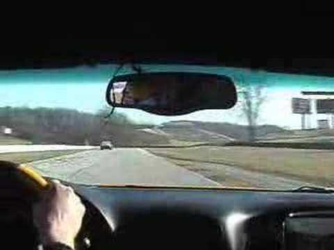 2002 ZO6 Corvette chasing a 650HP Porsche