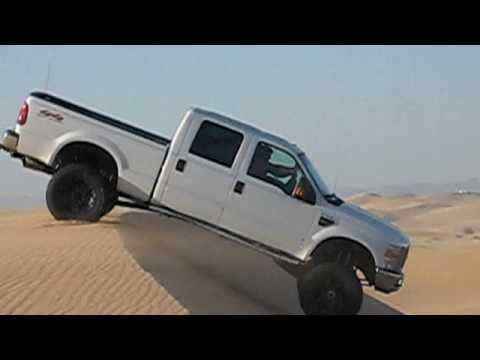 Glamis Dunes 2009 F250 Truck Jump