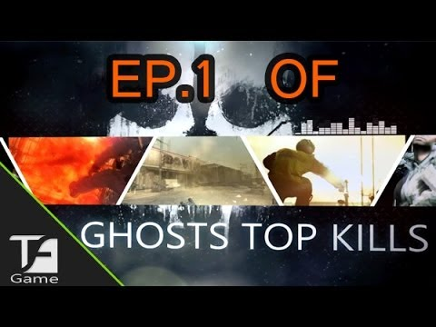 Call Of Duty Ghost : Top 5 Kills Ep.1
