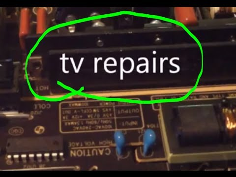 Easy Most Common TV Repairs- LCD. LED. Plasma. Dlp. HD Projectors!!!