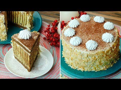 """Идеальный десерт для всей семьи - торт """"Мелодия"""".   Appetitno.TV"""