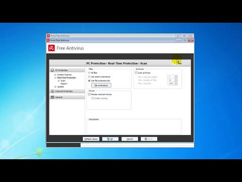 AVIRA 2015 Free Antivirus - Install and Scan