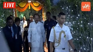 Union Minister Venkaiah Naidu Entry at Ugadi Celebrations in Raj Bhavan