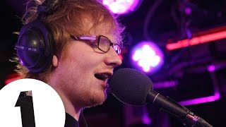 Ed Sheeran covers Christina Aguilera