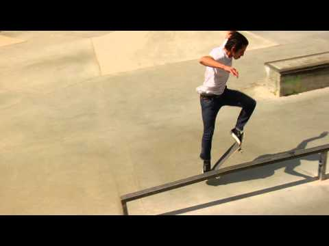 Andrew Reynolds and Leo Romero at Brea Skatepark