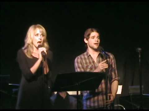 ASHLEY SPENCER and JEREMY JORDAN singing OFF TO THE EAST by Carner and Gregor