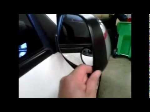 Fix rear view mirror shaky rattle noise 2006 Toyota Sequoia Tundra