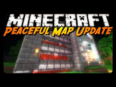 Minecraft: Upgraded TNT Cannon / Cactus Farm & More! (Peaceful Map Update)