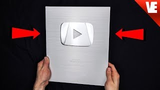 THE SILVER PLAY BUTTON!
