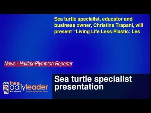 Sea turtle specialist presentation