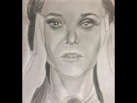 Dibujando a ANA CAROLINA VASAGNA (De SOY LUNA)