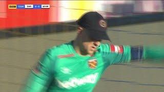 Hilarious video! Joe Hart wears baseball cap thrown to him by West Ham fan