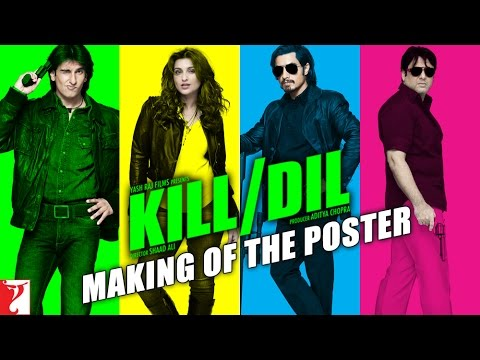 Kill Dil Leaks - Poster Raiser
