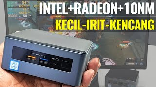 Prosesor Intel 10nm Cannon Lake + AMD Radeon dalam PC Super Kecil: Review NUC8i3CYSM - Indonesia