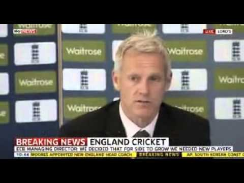 Peter Moores back England Cricket No way back for Kevin Pietersen
