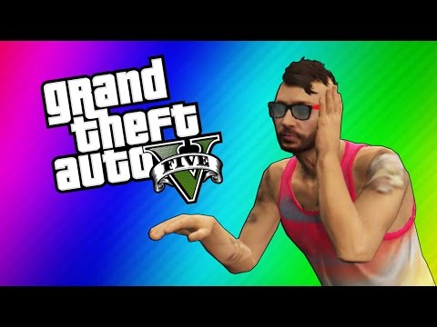 GTA 5 Online Funny Moments - DJ Booth Glitch, Air Swimming, Special Handshake!