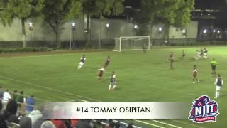 NJIT Men's Soccer Goal Highlights vs. Rider