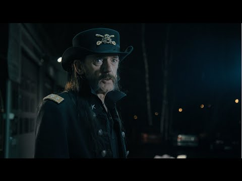 Finnish milk advertisement with Lemmy Kilmister, from december 6th, 2015, the day of motörhead's last gig in Finland