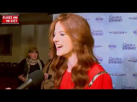 Game of Thrones Ygritte Season 4 Premiere Interview - Rose Leslie
