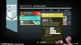 Destiny Exotic Scout Rifle MIDA MULTI-TOOL Drop After Nightfall!