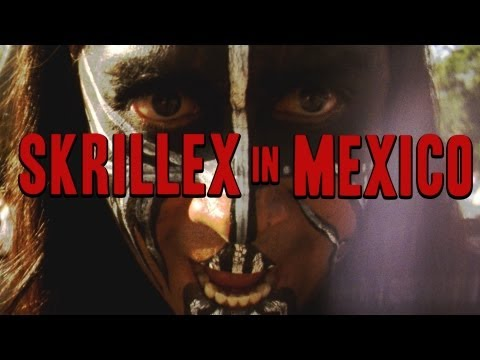 Skrillex In Mexico video