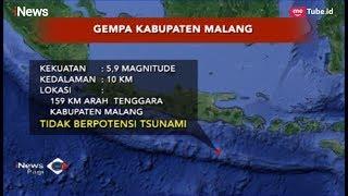 Gempa Berkekuatan 5,9 SR Guncang Malang, Tidak Berpotensi Tsunami - iNews Pagi 19/02