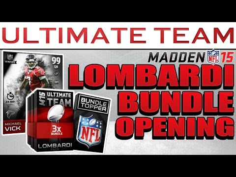Wyza Pulls Lombardi BUNDLE In Search for 100 Speed Vick Madden 15 Ultimate Team Pack Openings