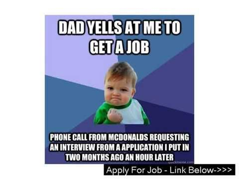 Mcdonalds Jobs Apply Online Uk in Calvin