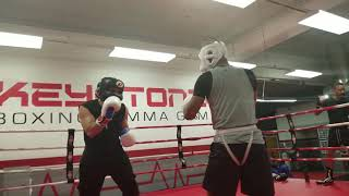 Boxing Sparring 2/3