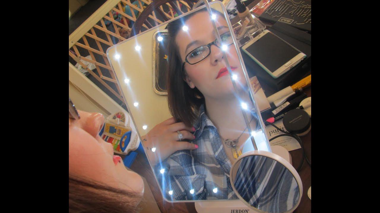 Jerdon makeup mirror