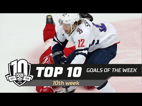 17/18 KHL Top 10 Goals for Week 10.