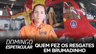 Conheça a pilota que fez resgate impressionante em Brumadinho (MG)