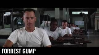 Forrest Gump - Scène culte - Assemblage express du fusil